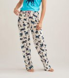 Little Blue House by Hatley Women's Bandana Labs Cotton Jersey Pajama Pant