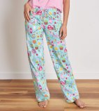 Little Blue House by Hatley Women's Country Living Cotton Jersey Pajama Pant