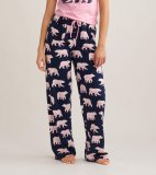 Little Blue House by Hatley Women's Mama Bear Cotton Jersey Pajama Pant