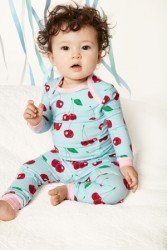 "Bedhead Boo Boo ""Cherry Hearts"" Stretch Set"
