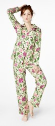 "Bedhead Women's ""Garden Party"" Classic Stretch Pajama Set"