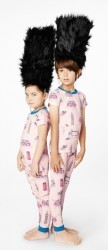 "Bedhead Kids ""London Calling"" Pajama Set"