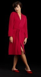 Bedhead Women's Red Cashmere Robe