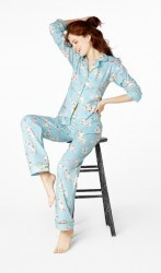 "Bedhead Women's ""Road Trip"" Classic Stretch Pajama Set"
