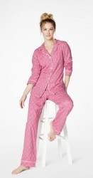 "Bedhead Women's ""Seaside Knot"" Classic Stretch Pajama Set"