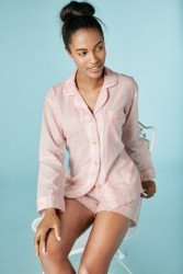 "Bedhead Women's ""Spanish Rose"" Classic Cotton Shorty Pajama Set"