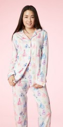 "Bedhead Women's ""Tour de France"" Classic Stretch Pajama Set"
