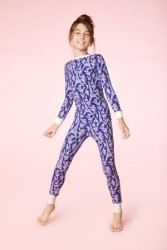"Bedhead Tween ""Blue Eiffel"" Stretch Pajama Set"