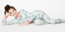 "Bedhead Tween ""Cafe du Paris"" Stretch Pajama Set"