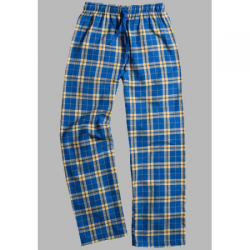 Boxercraft Royal and Gold Unisex Flannel Pajama Pant