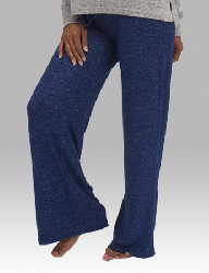 Boxercraft Women's Wide Leg Cuddle Pant in Navy