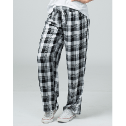 Boxercraft Women's Featherlite Black and White Plaid Pajama Pant