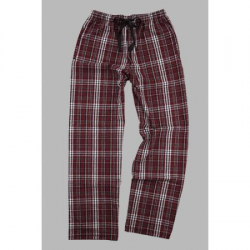 Boxercraft Garnet and Black Unisex Flannel Pajama Pant