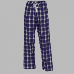 Boxercraft Purple Heritage Plaid Unisex Flannel Pajama Pant