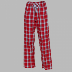 Boxercraft Red Heritage Plaid Unisex Flannel Pajama Pant