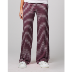 Boxercraft Women's Maroon Stripe Margo Loungepant