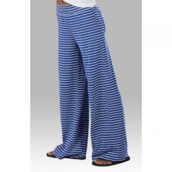 Boxercraft Women's Royal Stripe Margo Loungepant