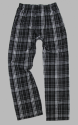 Boxercraft Men's Black and Grey Classic Flannel Pajama Pant