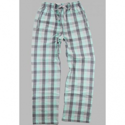 Boxercraft Mint & Gray Flannel Pajama Pant