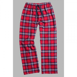 Boxercraft Navy and Red Unisex Flannel Pajama Pant