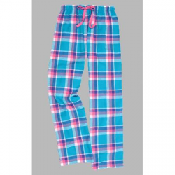 Boxercraft Pacific Surf Plaid Unisex Flannel Pajama Pant