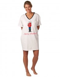 Emerson Street Meowy Christmas Holiday Nightshirt