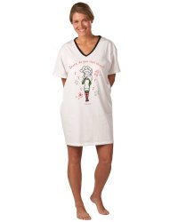 Emerson Street Santa Do You Rent Elves Holiday Nightshirt