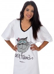 Emerson Street Best Friend Cat Nightshirt in a Bag