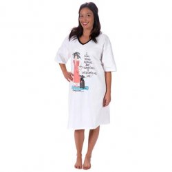 "Emerson Street ""I Enjoy Doing Nothing..."" Nightshirt in a Bag"
