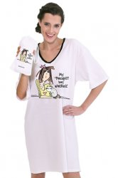 "Emerson Street ""My Therapist Has Whiskers"" Nightshirt in a Bag"