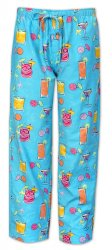 The Cat's Pajamas Men's Happy Hour Flannel Pajama Pant