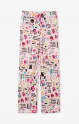 Little Blue House by Hatley Women's Book Club Cotton Jersey Pajama Pant