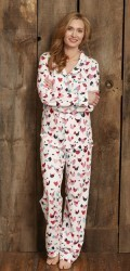 "Hatley Nature Women's ""Hens and Chicks"" Cotton Jersey Pajama Set"