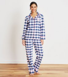 Little Blue House by Hatley Ski Holiday Women's Classic Flannel Pajama Set