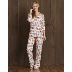 "Hatley Nature Women's ""Harvest Pears"" Cotton Jersey Pajama Set"