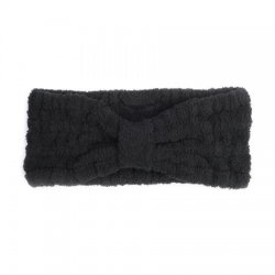 Kashwere Spa Head Wrap in Black