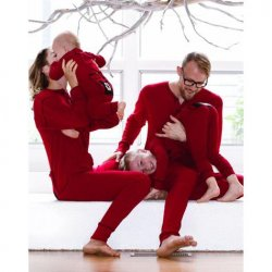 Lazy One Adult Unisex Red Bear Bum FlapJack