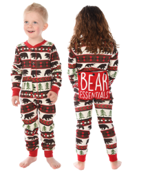 Lazy One Kids Unisex Bear Essentials FlapJack