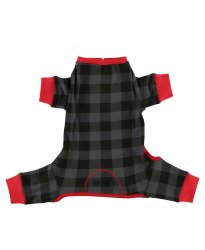 Lazy One Grey Plaid FlapJack for Dogs