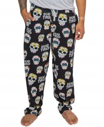Lazy One Men's Dead Tired Cotton Knit Pajama Pant
