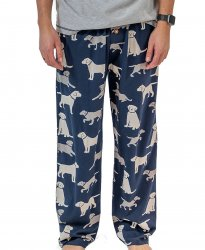 Lazy One Men's Lab Cotton Knit Pajama Pant