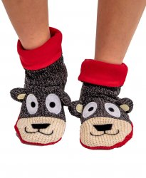 Lazy One Bear Woodland Family Slipper