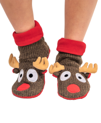 Lazy One Reindeer Woodland Family Slipper