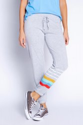 PJ Salvage Retro Lounge Stripe Banded Pant