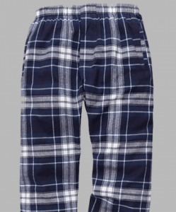 Boxercraft Men's Navy and White Classic Flannel Pant