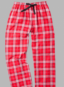 Boxercraft Red and White Plaid Flannel Pajama Pant