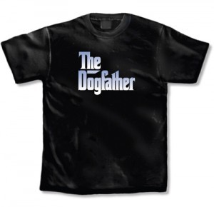 La Imprints The Dogfather T Shirt In Black
