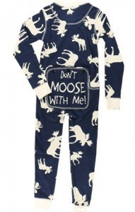 Lazy One Kids Classic Moose FlapJack in Navy