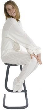 Big Feet Pajamas Adult Ivory Jersey Knit One Piece Footy