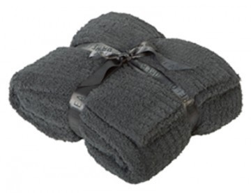 Barefoot Dreams® CozyChic®  Ribbed Throw in Slate Blue